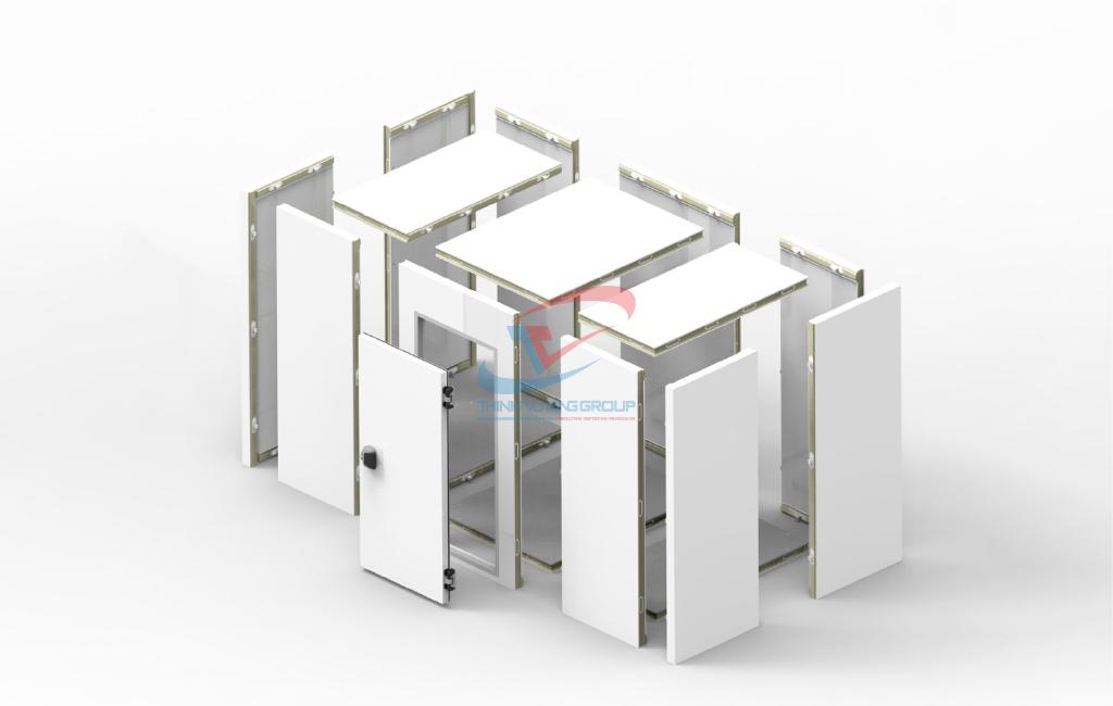 cấu tạo của vỏ kho lạnh công nghiệp