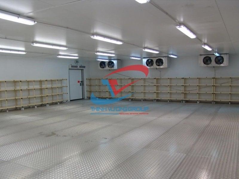 Kho Lạnh Thịnh Vượng chuyên thi công kho lạnh bảo quản củ, rau các loại