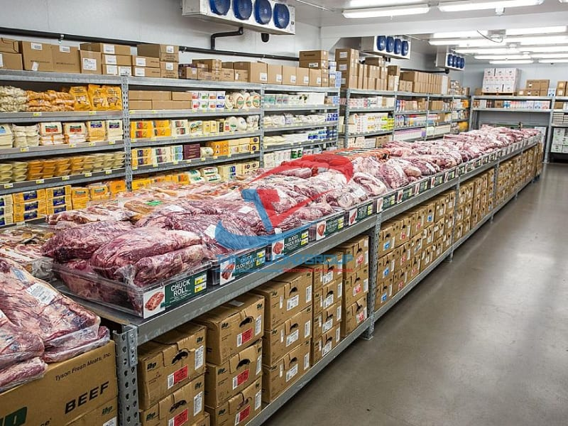 kho lạnh bảo quản thịt bò