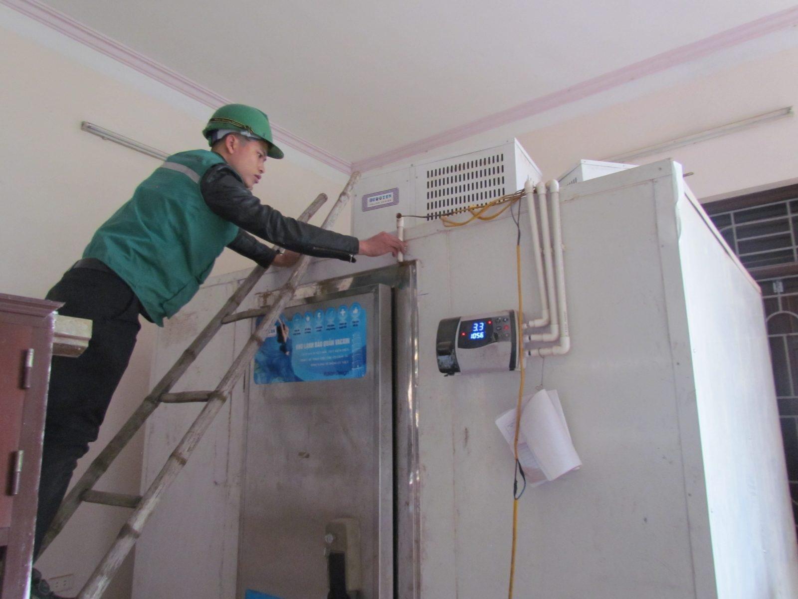dịch vụ vệ sinh kho lạnh